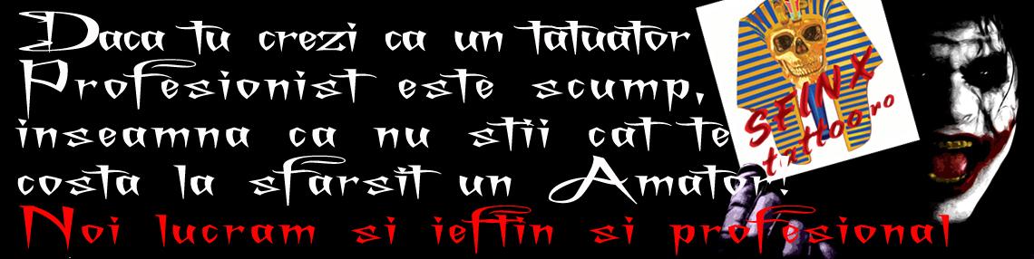 Sfinx Tattoo Craiova